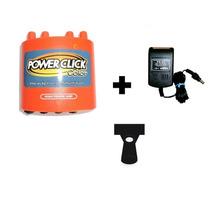 Kit Power Click Db05 Color Laranja+ Fonte Ps01 + Suporte Spp
