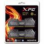 Memoria Ram Ddr3 8 Gb (4gb X 2) 2400 Pc3 Gaming Adata Xpg