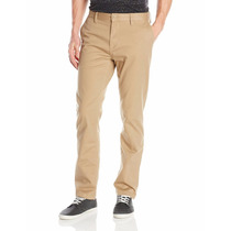 Pantalon Dc Straight Chino Hombre Khaki Importado Usa