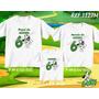 Kit Camisetas Personalizadas Tema De Aniversário Doki/ Ben10
