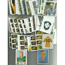 Figurinhas Avulsas Brasil De Todas As Copas 1919 - 2014