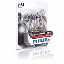Lampada Farol Moto H4 60/55 Xtreme Vision Philips 100%+luz