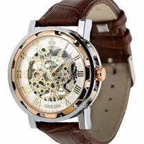 Reloj Transparente, Maquinaria Visible