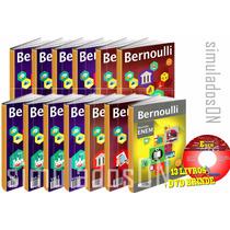 Coleção Bernoulli 4v 2016 2017 Frete Grátis