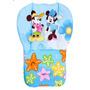 Almofada, Capa, Para Carrinho De Bebê Minnie Mickey Azul