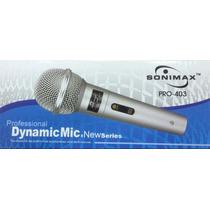 Microfono Sonimax Pro-403 Con Cable 3mts