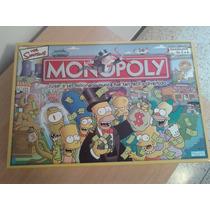 Juego De Monopolio Tema Los Simpson Original Español