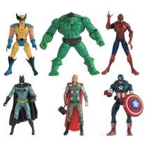 Homem De Ferro,aranha,batman,thor,wolverine,capitão América