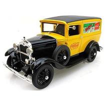 Miniatura Réplica Ford Model A 1931 Coca-cola Delivery 1:18