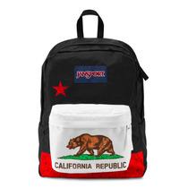 Mochila Jansport Superbreak Red New California Republic
