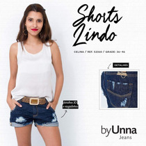 Shorts Jeans By Unna