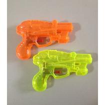 Pistola Lança Água De Plástico 15x10cm