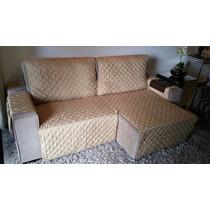 Protetor De Sofa Retratil E Reclinavel 1,60.. 2 Modulos