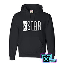 Sudadera Comoda C Gorro Laboratorios Star Flash