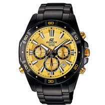 Relógio Casio Masculino Edifice Efr-534bk-9avdf.