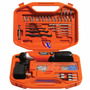 Atornillador Inalam B&d 3.6v Kit Est/acc 138pcs Bd7260