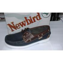 Zapatos Newbird De Vestir Casuales Para Caballeros De Cuero
