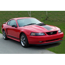 Spoiler Lip Facia Delantera Tipo Mach 1 Mustang 1999 - 2004