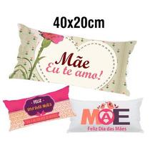 50 Travesseirinhos Almofadas Lembrancinha 40x20 Dia Das Mães