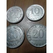 4 Monedas Antigua,moneda Argentina