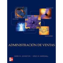Libro Administracion De Ventas - Johnston - 9 Edicion