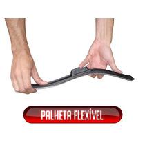 Limpador De Para-brisa Palheta Flat Silicone Slim Softwiper