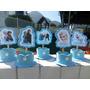 Frozen Decoração Festa Kit Com 20 Arranjos / Lembrancinhas