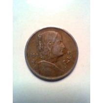 Cinco Centavos Moneda Mexicana 1950
