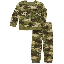 Pans Sudadera Camuflaje Militar T 12 Y18 Meses Envio Gratis
