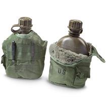Anfora Cantimplora De Cargo Militar Original Us Army