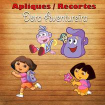 Pacote Com 20 Apliques / Recorte - Dora Aventureira