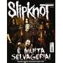 Revista Pôster Slipknot Nova! = Gigante 52cm X 81cm + Letras