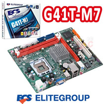 Mother 775 Ecs G41t-m7 Ddr3 X2 Intel G41 Pcie Garantia Box C