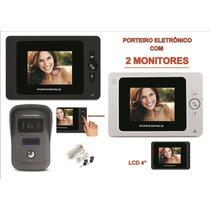 Video Porteiro 2 Telas Powerpack Df-2406 Promo Black Friday