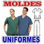 Moldes Y Patrones Uniformes Medicos Enfermera Odontologo