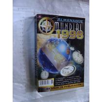 Libro Almanaque Mundial Año 1998 , 608 Paginas