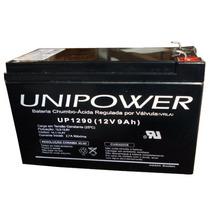 Bateria 12v 9ah Bicicleta Elétrica Skate Unipower Up 1290