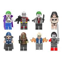 Escuadron Suicida Sw3 Joker Killercroc Compatible Con Lego