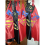 Capas Solas De Superheroes En Goma Eva P/niños Y Niñas