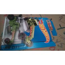 Hot Wheels Street Cleaver Verde Máquina Pavimentad Lyly Toys