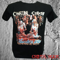 Camiseta Banda Rock Thrash Metal Camisa Cannibal Corpse