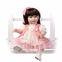 Boneca Adora Doll Baby Alive Realista Vinil Silicone Reborn