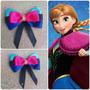Lazos Moños Cintas Para Bebes Niñas Frozen Ana Elsa Rapunzel