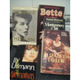 Libros Cine Marilyn Monroe,liza Minelli,bette Davis,biografi