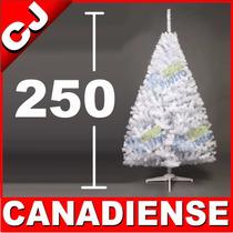 Arbol Navidad 250 Blanco Canadiense Pino Artificial Pachon