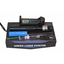 Super Caneta Laser Pointer Verde Longo Alcance 16 Km Estojo