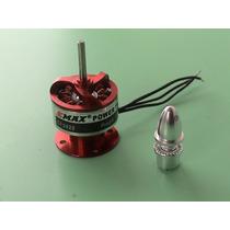 Motor Brushless Emax Cf 2822 Com Spinner Aero - Asa Zaggi Rc