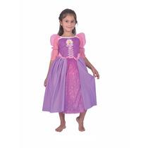 Disfraz De Rapunzel Talle 2 Princesas Juguetería El Pehuén