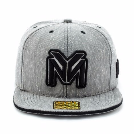 Bone Aba Reta Young Money Snapback Cinza - R  60 94e02fdaccf
