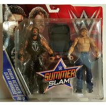 Wwe Mattel Battle Pack Dean Ambrose & Roman Reigns